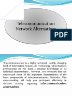 Week-5 & 6 Telecommunication Network