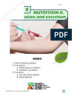Student's Booklet - NUTRITION II (Circulation and Excretion)