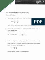 CN5161 Homework Set 3