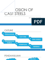 Corrosion of Cast Steels Rev.