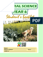 Student's Booklet (Natural Science 6)