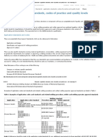 Standards - Application Standards, Codes of Practice and Quality Levels - Job Knowledge 38