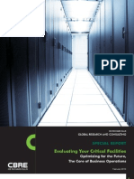 Evaluating Your Critical Facilities Data Centers