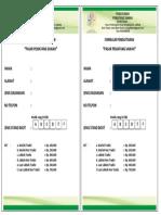 Form Pendaftaran Pelayanan