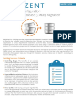 White Paper CMDB Migration