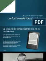 Los Formatos Del Libro Electrónico