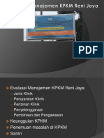 Evaluasi Management KPKM