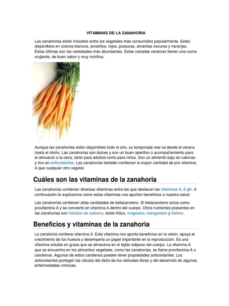 Vitaminas De La Zanahoria Vitamina A Antioxidante Cocinar las zanahorias, retirar y cortarlas en rodajas. vitaminas de la zanahoria vitamina a
