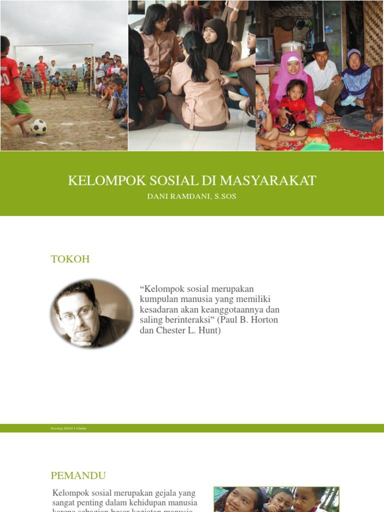 PPT Materi Sosiologi Kelas XI Bab 1. Kelompok Sosial di ...