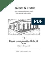 Galafassi_Historia del Delta del Paraná