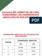 Calculo  Azimut conociendo coord de dos puntos.ppt