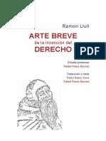 (Historia del Derecho - 37) Ramon Llull-Arte breve de la invención del derecho-Universidad Carlos III de Madrid (2015).pdf