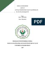 Critical Book Report Kimia