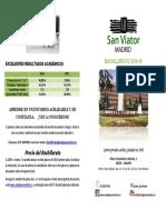 Bachillerato Colegio San Viator MAdrid