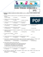 Soal UTS IPS Kelas 6 SD Semester 1 (Ganjil) Dan Kunci Jawaban
