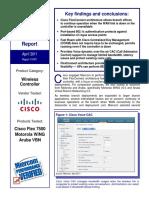 Cisco Flex 7500 Wireless Controller