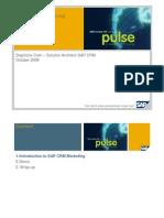 Pulse3 Sap-crm Seminar