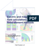 Electric and magnetic field calculations with finite-element methods