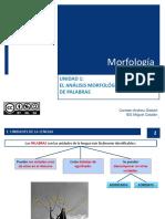 Unidad 1 El Anacc81lisis Morfolocc81gico y Las Clases de Palabras 2017 2018