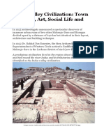 Indus Valley Civilization- Town Planning Art Social Life and Religion