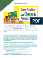 Modelo de Una Sesion de Aprendizaje E.F.