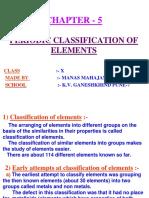 5periodicclassificatonofelements