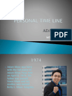 Personal Time Line