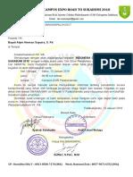 Surat Undangan Alumni Bapak Badri