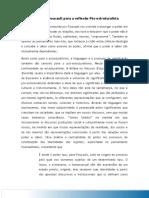 Aula 04 Contribuicao de Foucault Para a Reflexao Pos Estruturalista