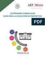 Autonomía curricular. Guía para seleccionar proyectos fase cero.pdf