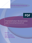transnational governance and constitutionalism