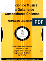 Coleccion de Musica Para Guitarra de Compositores Chilenos Vol.1