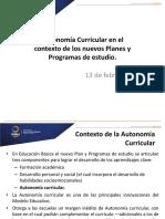 3. b. AUTONOMIA CURRICULAR.pptx