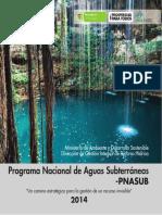 Programa Nacional Aguas Subterraneas Copy