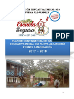 Plan de Contingencia de Inundación i.e. Nva. Alejandria 2017 - 1