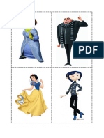 Adjectives Characters Flashcards