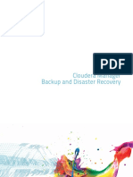 Cloudera Manager Backup and Data Recovery