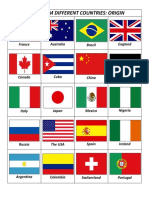 Flags from different countries Origin.pdf