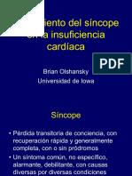 Tratamiento del síncope  en la insuficiencia  cardíaca
