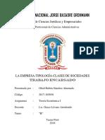 n4-La Empresa-tipología-clases de Sociedades Con Ejemplos