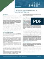 Dry bulk fact sheet
