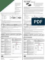Tina-2a Quick-manual Abb (Sv en Ge Fr) Rev d 140203