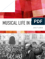 Musical Life in Russia