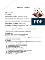 Proiect Didactic Lectie Comisie Manu