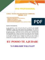 Anhanguera Desafio Gestão Comercial 3 e 4 Semestre - Netshoes