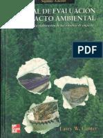 MANUAL DE EVALUACIÓN DE IMPACTO AMBIENTAL - LARRY CANTER