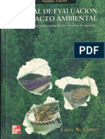 MANUAL DE EVALUACIÓN DE IMPACTO AMBIENTAL - LARRY CANTER