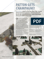 Combat Action Command Rules - Wargames Magazine Article