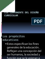 Los Componente Del Diseño Curricular-5