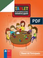Manual Para uso de aplicaciones Tablet